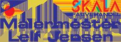 Leif Jensen Maler Logo
