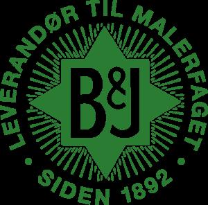 Farvehandel B&J logo Pantone 356 C