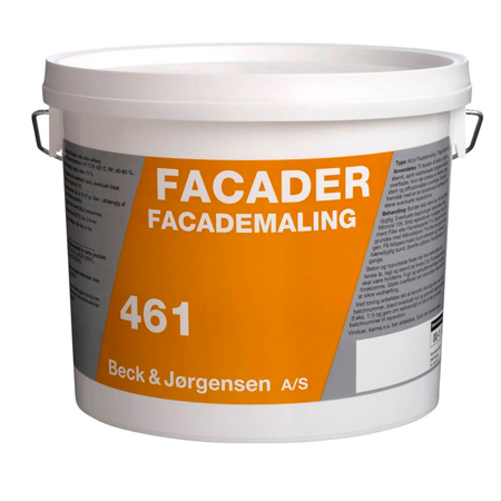 461 B&J Facademaling